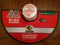 1 x Somersby Cider Bar drip mat, 100 drink mats 4 x keyring bottle openers