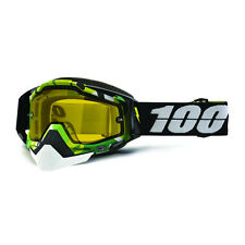 ACCESSORI OCCHIALI GOGGLE SPORT BIKE 100% RACECRAFT SNOW BOOTCAMP YELLOW