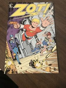 Eclipse Comics ZOT! Vol 1 No 1. April 1984
