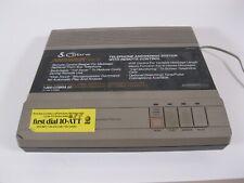 Cobra AN-8400 Answering Machine Dual Tape Cassette Dynascan NO POWER CORD