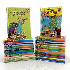 Lot 47 Wonderful World Of Reading Disney Book Club Set Classic Childrens Cartoon