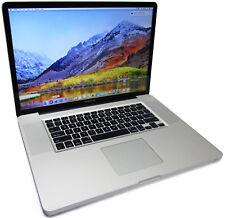"Apple MacBook Pro 17"" Quad Core i7-2760QM 2.4GHz 500GB 6GB A1297 Late-2011"