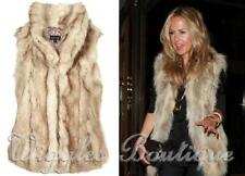 Faux Fur Dry-clean Only Solid Coats & Jackets for Women