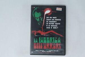 DVD LA FABBRICA DELL'ORRORE CULT 70  RAVEN, BOLAM, MAUDE [LI-048]