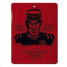 Disney World Tower of Terror Hollywood Hotel Tin Sign, NEW