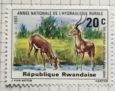 Rwanda/Rwandaise stamps - Impala (Aepyceros Melampus) 20 Rwanda san 1981