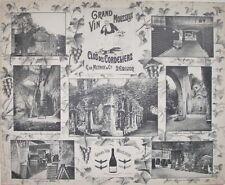 1908 GRAND VIN MOUSSEUX CLOS DES CORDELIERS BORDEAUX WINE HENRY GUILLIER VIEWS