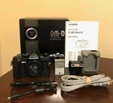 Used Olympus OM-D E-M5 Mark III Mirrorless Digital Camera Body (Black) #305