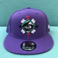 New Joker New Era X DC Comics The Joker Eye Purple SnapBack 9FIFTY Hat