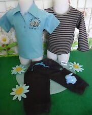 vêtements occasion garçon 9 mois,sweat GRAIN DE BLE,polo,bas jogging ORCHESTRA