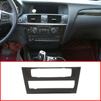 Carbon Fiber Multimedia central control CD panel TRIM for BMW X3 X4 F25 F26