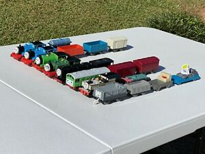 """Thomas And Friends Trackmaster Train Lot Of 19 (Nineteen) Pcs """"Tested"""" 1994-'06"""