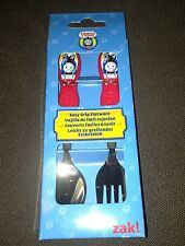 ZAK! DESIGN THOMAS & FRIENDS, THOMAS THE TANK STAINLESS SPOON & FORK CUTLERY