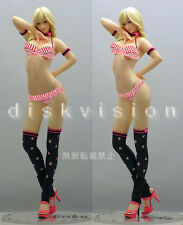 Elsa Blond Girl Woman Body Sexy 1/5 Unpainted Statue Figure Model Resin Kit
