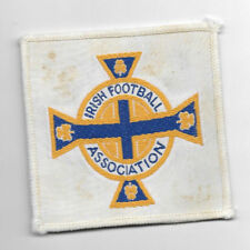 Vintage Woven Blazer Badge - IRISH FOOTBALL ASSOCIATION