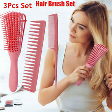 Detangle Hair Brush Comb Anti-Static Scalp Massage Styling Tool Salon