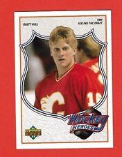 1991-92 Upper Deck BRETT HULL HEROES # 2 Brett Hull 1984 FEELING THE DRAFT