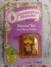 Vintage Strawberry Shortcake Mini Almond Tea Marza Panda Sealed Card..Rare!