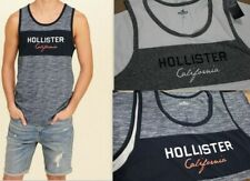 NWT HOLLISTER Men California Muscle Slim Fit Tank Top Tee Shirt By Abercrombie