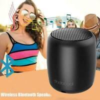 Bluetooth Speakers, Portable Small Wireless Speaker Mic Built-in Black B0B5