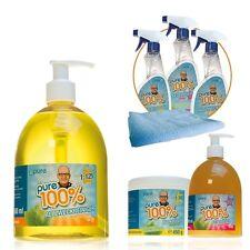 Pure100% Spezial Mega Package Fettreiniger Kalklöser Allzweckreiniger Mediashop