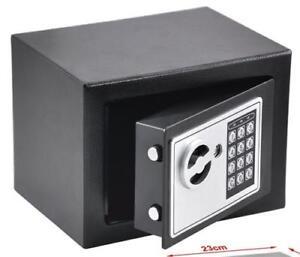 Safe M01 Minisafe elektronischer Tresor Minitresor Wandtresor  Möbeltresor