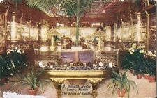 Postcard Florida Tampa W.H. Beckwith Jewelry Store Interior c1907-15