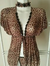 Leopard Print Sexy Baby Doll Size S M L  One Size