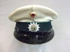 Schirmmütze Polizei Schleswig - Holstein alte Art mit weißem Plastikdeckel Gr.58