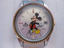 Disney-Micky-Mouse-Wrist-Watch-Lorus-Quartz-Womens-Japan