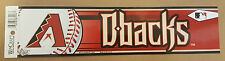 Arizona Diamondbacks 2006 Baseball Bumper Sticker WinCraft USA MLB