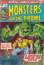 MONSTERS ON THE PROWL #21 F, Marvel Comics 1973