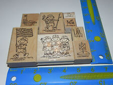 Stampin Up Scouts at Play Boy Scouts Stamp Set