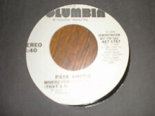 Paul Young 45 Wherever I Lay My Hat PROMO COLUMBIA