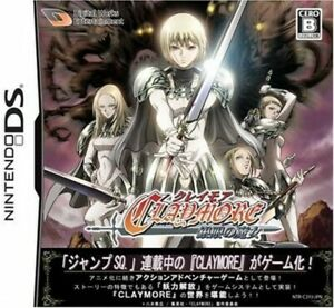 Video Game Nintendo DS CLAYMORE Japan
