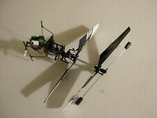 Heli-max rotor assembly with 4 blades and motor