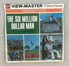 Unopened Sealed Viewmaster GAF Packet B559 The Six Million Dollar Man