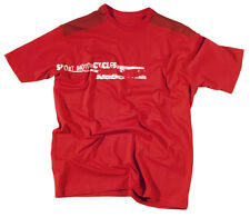 HEBO HM5419 Tee Shirt T-Shirt Moto Manche courte Modèle Nova Taille XXL Rouge