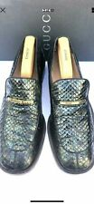 Men's Gucci Python Skin Leather  Shoes UK 9.5  EU 43.5 E