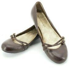 Rampage Oliviya Brown Flats Womens Size 7 M