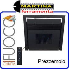 INSERTO CAMINO A PELLET PUNTO FUOCO MODELLO PREZZEMOLO 7,5 KW BY EVA CALOR