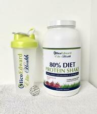 600ml Shaker Bottle Cup and Diet Protein Powder Package - Strawberries and Cream