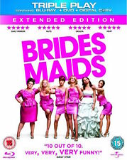 Bridesmaids (Blu-ray and DVD Combo, 2011, 3-Disc Set) FREE SHIPPING