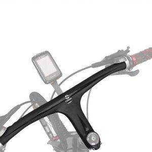 MTB TOSEEK 3K Carbon Fiber Handlebar Rise/Flat Bar Folding Bike Bar 600-720mm
