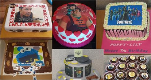 A5 MICHAEL JACKSON EDIBLE ICING BIRTHDAY CAKE TOPPER