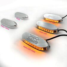 Mirror Block Off base Plates / Turn signals for SUZUKI GSXR 600 750 1000 GSX-R