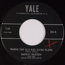 SMOKEY WARREN & MOUNTAIN DEW BOYS:  New Jersey Bluegrass Swing YALE 45 Hear