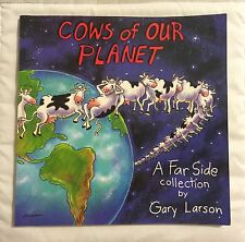 """Cows Of Our Planet"" Softcover Book by Gary Larson - 1992"