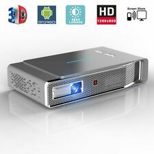 Video Projector 1280x800 3D DLP Link Android Smart 3800 Lumens Support 1080P HD