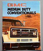 ORIGINAL 1976 GMC MEDIUM DUTY CONVENTIONALS TRUCK BROCHURE ~ 12 PAGES~ 76GMCMDC